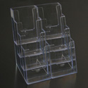 4 Tier 8 Pocket Brochure Holder - Blemish on Front Face