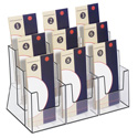 9 Pocket 3-Tier Tri-fold Holder