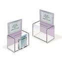Acrylic Ballot Box with 5