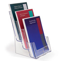 3 Pocket 3-Tier Catalog Holder - Wall Mountable