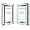 Deluxe Stand-Off Acrylic Wall Frame
