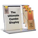 Deluxe Combo Sign Frame with 3 Pockets