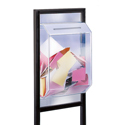 Frame Mounted Add-On Ballot Box