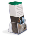 Extra Capacity Tri-Fold Holder