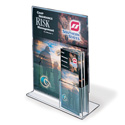 "Upright Sign/Brochure Holder Combo, 11"" x 14"""