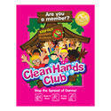 Clubhouse Clean Hands Club Posters
