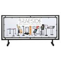 "65"" x 24"" Outdoor Banner Frame"
