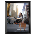 "22"" x 28"" Decorative Snap Poster Frame, Black"