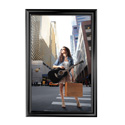 "24"" x 36"" Decorative Snap Poster Frame, Black"