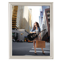 "22"" x 28"" Decorative Snap Poster Frame, Beige"