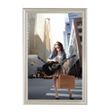 "24"" x 36"" Decorative Snap Poster Frame, Beige"