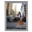 "22"" x 28"" Decorative Snap Poster Frame, Silver"
