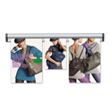 "24"" FastNote Paper & Poster Hanging Rail System"