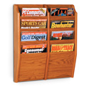 8 Pocket Magazine Wall Rack