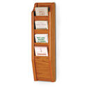 4 Pocket Brochure Wall Rack