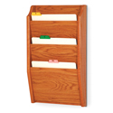 3 Pocket Wall Mount File and Chart Holder
