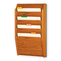4 Pocket Wall Mount File and Chart Holder