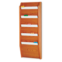 5 Pocket Wall Mount File and Chart Holder