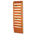 10 Pocket Wall Mount File and Chart Holder