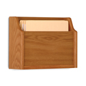 Single Pocket Extra Deep Wall Mount File and Chart Holder