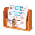 2 Pocket Newspaper Counter Display